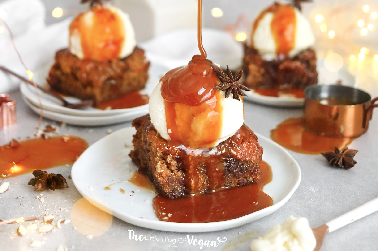 The best vegan sticky toffee pudding recipe