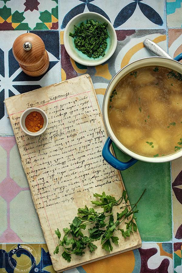 Goveđa (juneća) supa