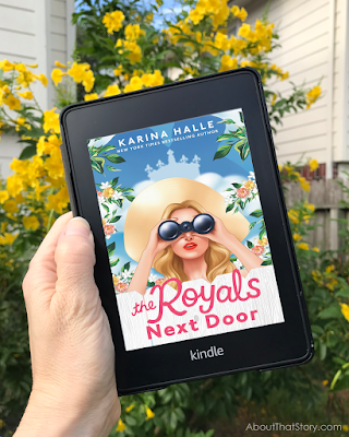 Book Review: The Royals Next Door by Karina Halle   About That Story