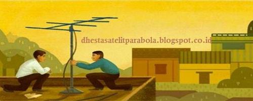 Dhesta Parabola Antena Tv Yagi