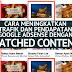 Cara Meningkatkan Trafik Dan Pendapatan Google Adsense Dengan Matched Content