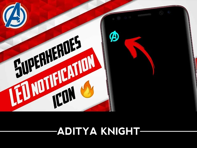 How To Set LED Notification Light On Any Android Phone | Notifiction Light On Amoled Smartphone