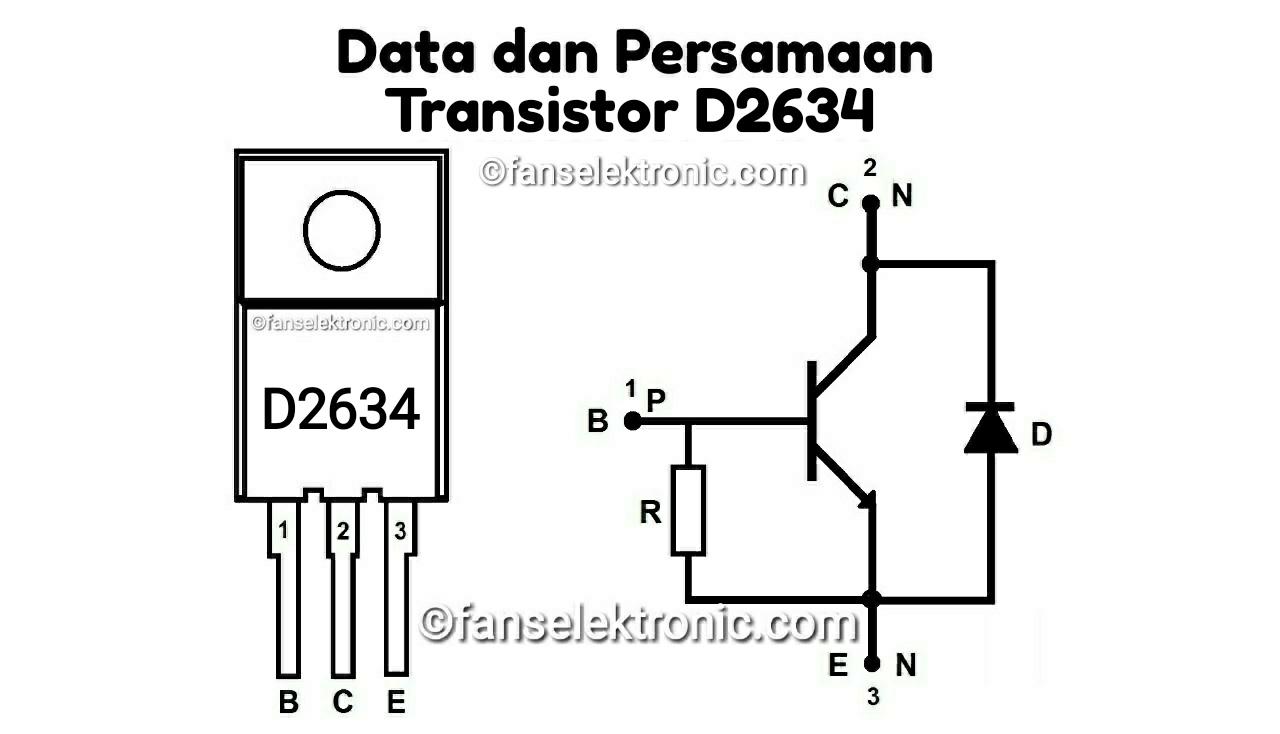 Persamaan Transistor D2634