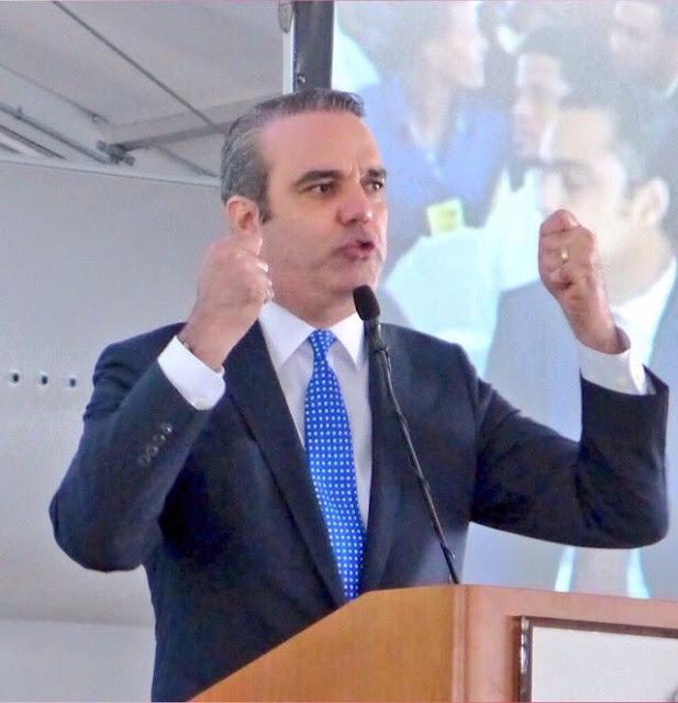 Luis Abinader afirma gobierno Danilo Medina ha fracaso en proteger vida y bienes de ciudadanos