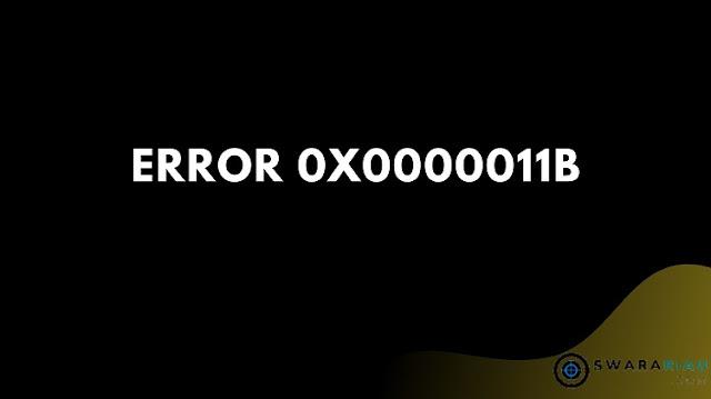 Mengatasi Printer Error 0x0000011b