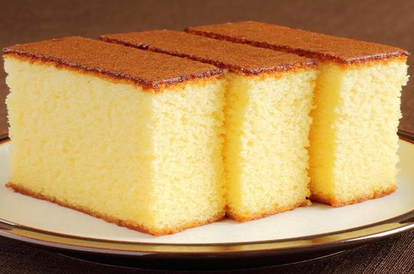 How to make a regular sponge cake