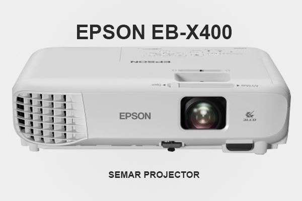 Sewa proyektor Epson EB-X400 3.300 lumens di Semarang