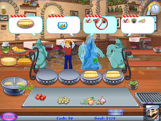 Cake Mania Lights Camera Action PC Game