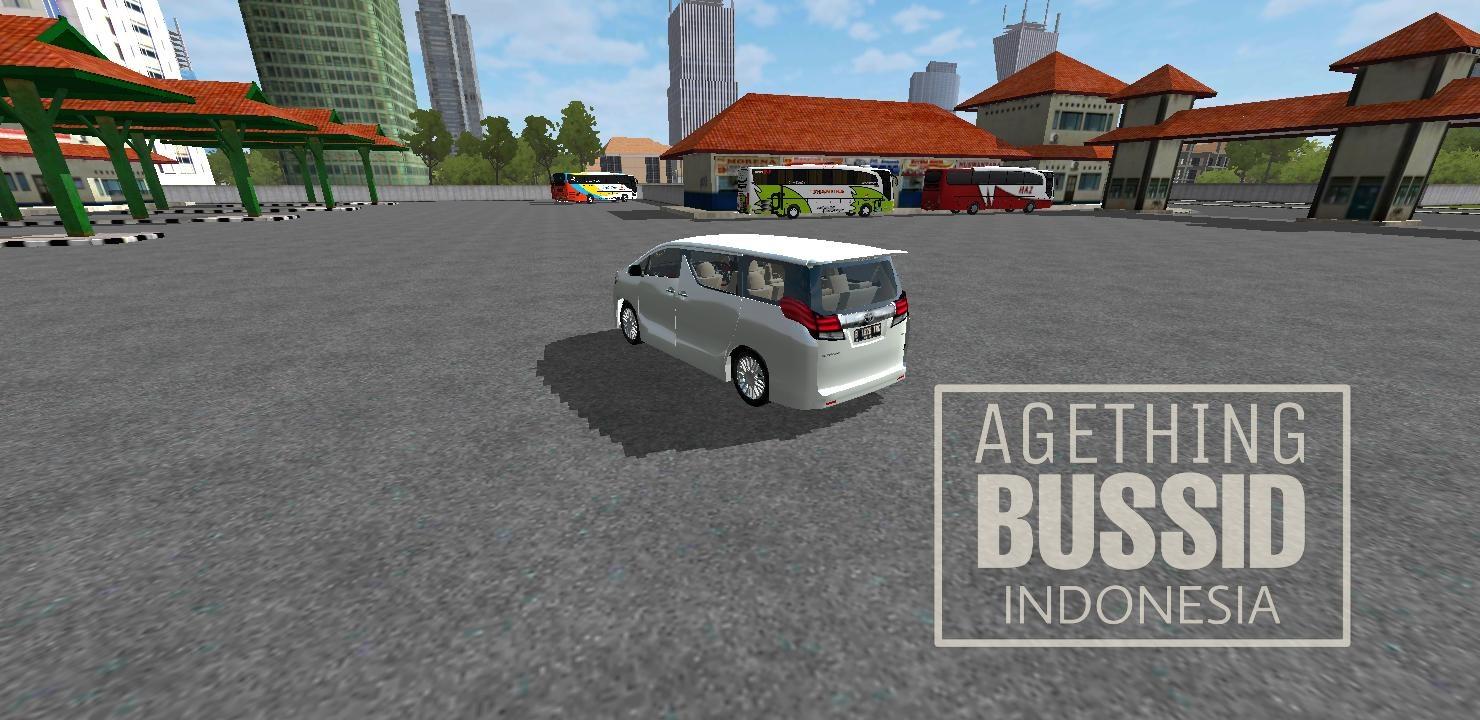 Download Mod Bussid Mobil Totoya Alphard Terbaru Agething Bussid