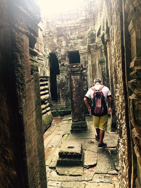 Bayon temple, Siem Reap, Cambodia.