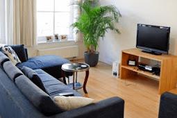 Sketsa Ruang Keluarga Sederhana