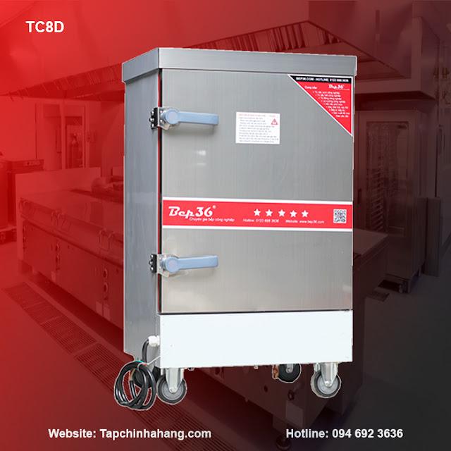 Tủ nấu cơm 8 khay sử dụng điện TCD8-2018