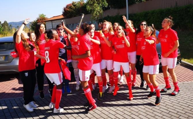 Benfica Tricampeão Nacional de Futsal Feminino 2018/19