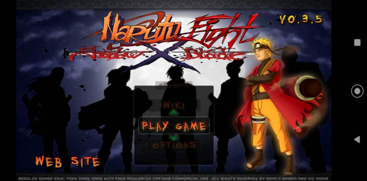 Naruto Fight Shadow Blade X apk v0.3.5