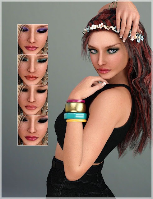 BD Thea for Genesis 3 Female