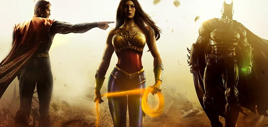 Superman, Wonder Woman şi Batman