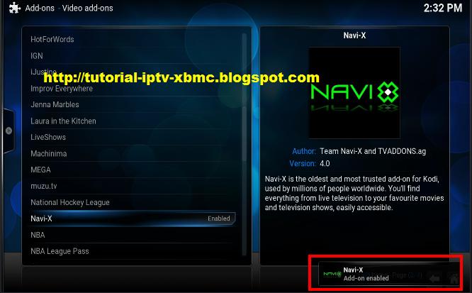 how to get navi x on kodi 2016