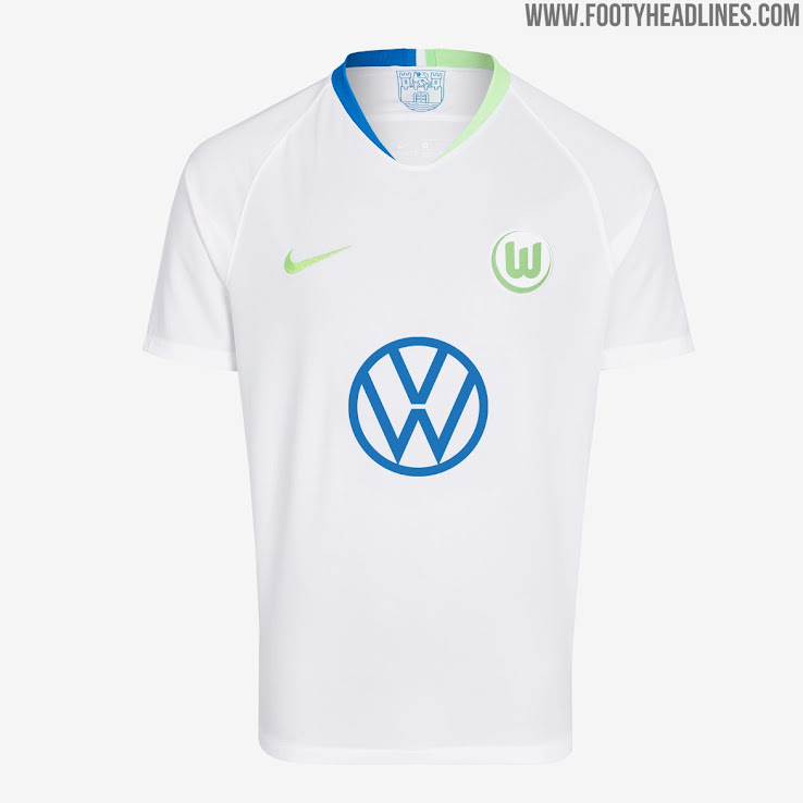 various colors d663c b776c New VW Logo: Nike Wolfsburg 19-20 Home & Away Kits Released ...
