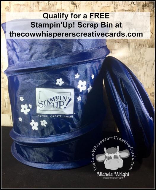 FREE, Scrap Bin, Stampin'Up!, Promotion