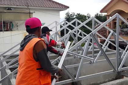 Teknik Dasar Cara Pasang Rangka Atap Baja Ringan