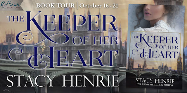 It's the Grand Finale for THE KEEPER OF HER HEART by STACY HENRIE!