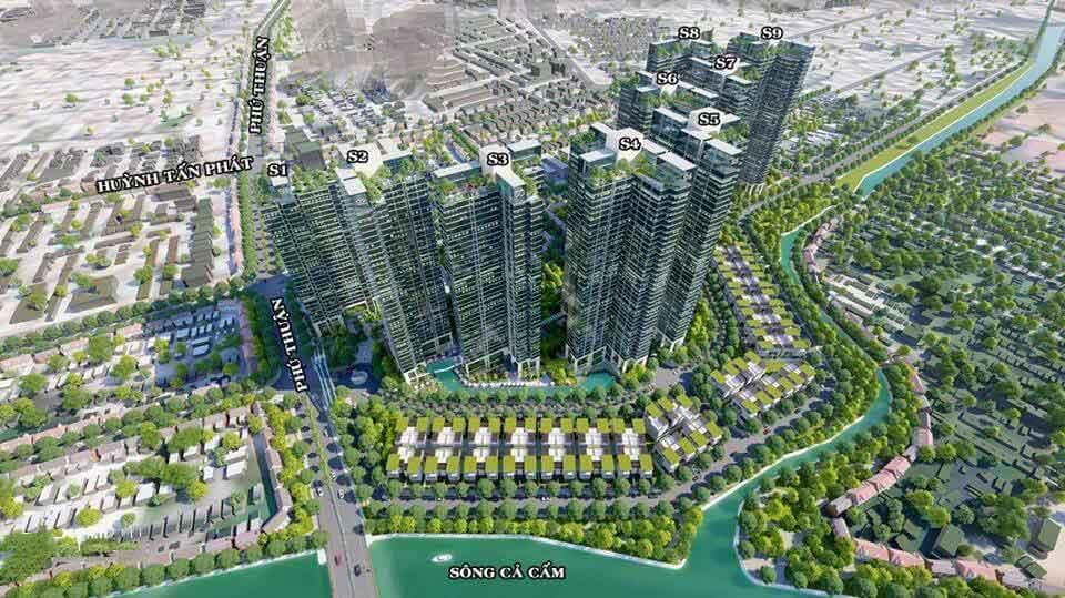 Chi Tiết Mặt Bằng Căn - Căn Hộ Sunshine City Sài Gòn