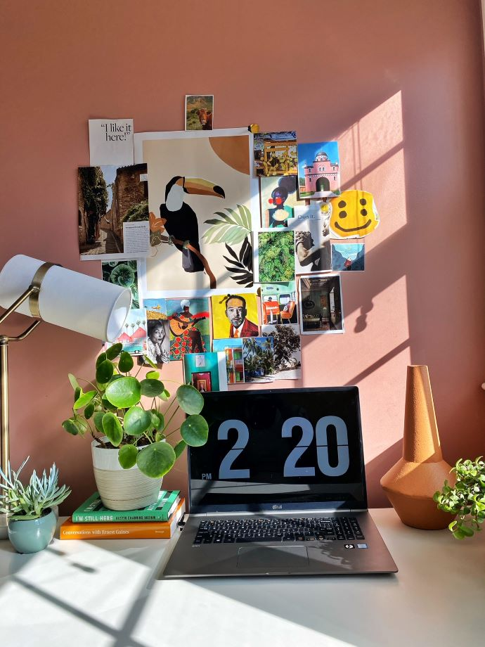 Work From Home nook