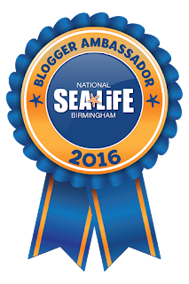 National Sea Life Blogger Ambassador 2016