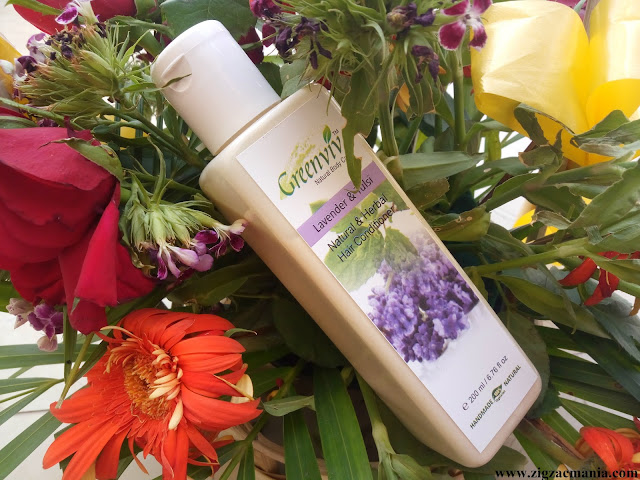 Greenviv Lavender & Tulsi Natural & Herbal Hair Conditioner Review