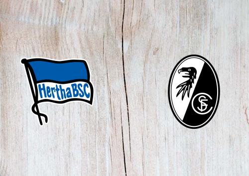 Hertha BSC vs Freiburg -Highlights 14 December 2019