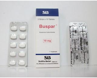 بوسبار أقراص Buspar علاج القلق والتوتر