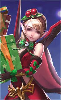 Karina Christmas Cheer Carnival Heroes Assassin Mage of Skins V3