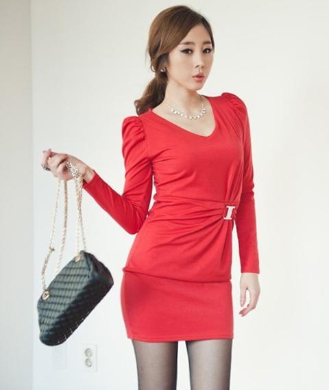 model dress natal terbaru