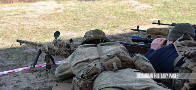 Снайпери 81 аеромобільної бригади