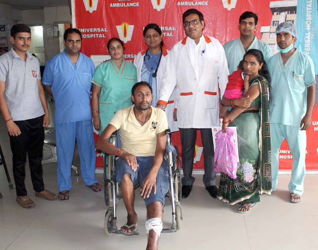 The workers of Indraprastha Hospital returned the life of Indra by avoiding cutting bits