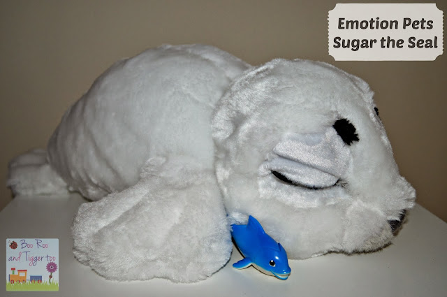 Boo Roo and Tigger Too - Emotion Pets Sugar The Seal Review