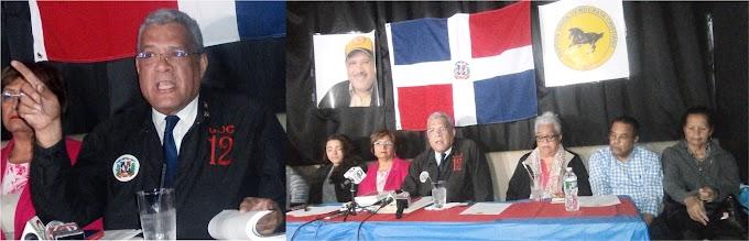 Presidente de la UDC se declara en NY el abanderado  de lucha por el rescate de la soberanía nacional