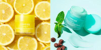 Laneige Lemon Sorbet & Mint Choco