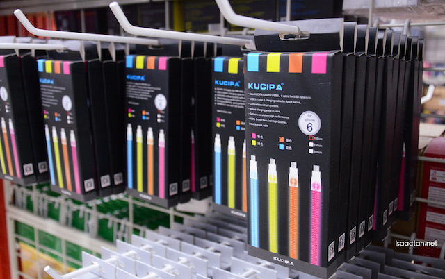 Colour up your life with these multi coloured bright charging cables