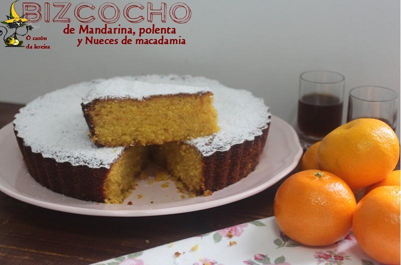 Bizcocho De Mandarina Polenta Y Nueces De Macadamia
