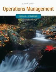 Operations Management William Stevenson 11th Edition Pdf ...