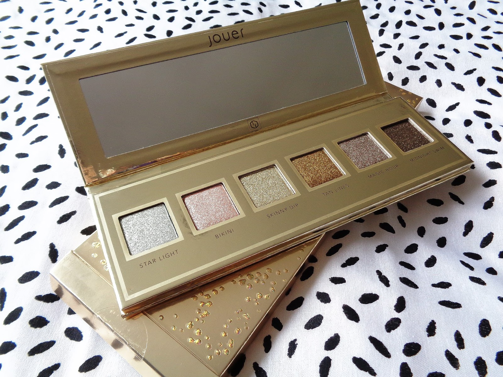 Jouer Skinny Dip Collection Ultra Foil Eyeshadow Palette Review