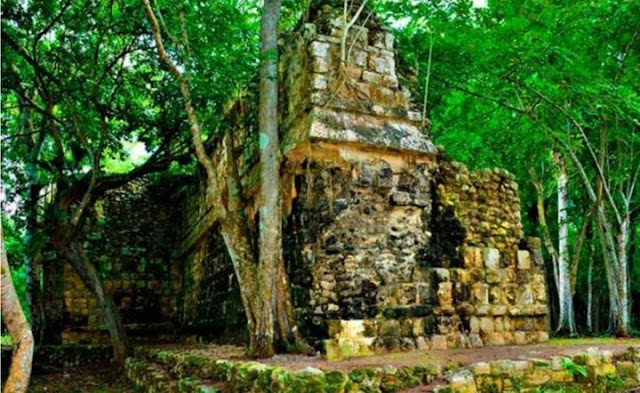 Large Mayan palace found in Mexico