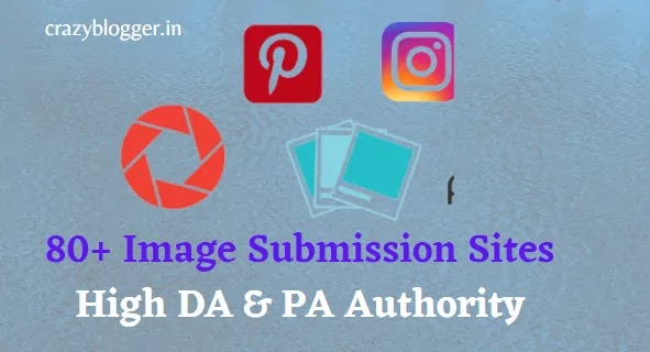 80+ Top Free Image Submission Sites List With Instant Approval Hindi