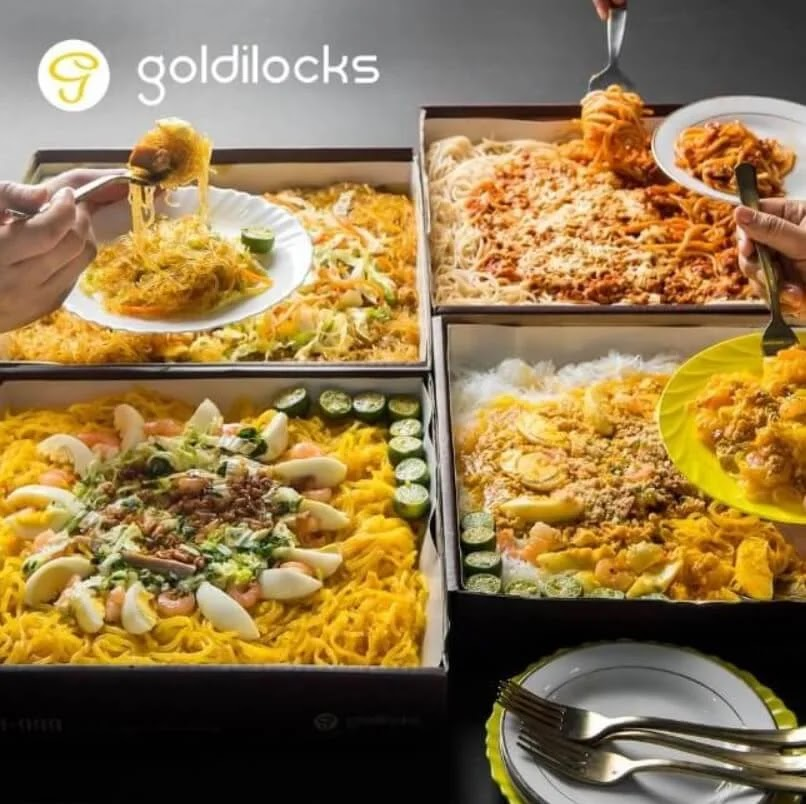Goldilocks Christmas Party Packages