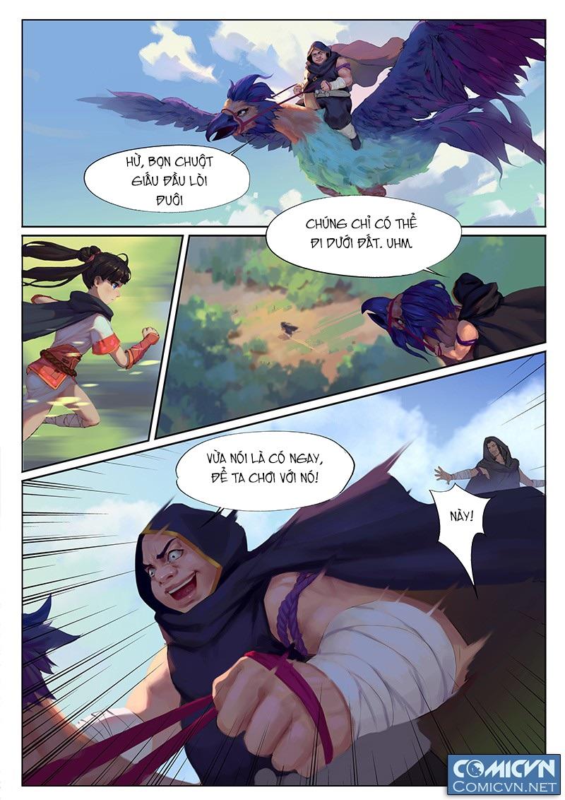 Yêu Túc Sơn Chap 13 Trang 8