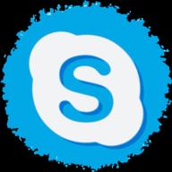 skype social button