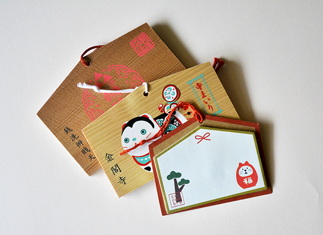 cute fortune cat Daruma house sticky notes bookmark stickers sticky notes