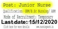 National AIDS Research Institute Junior Nurses Recruitment