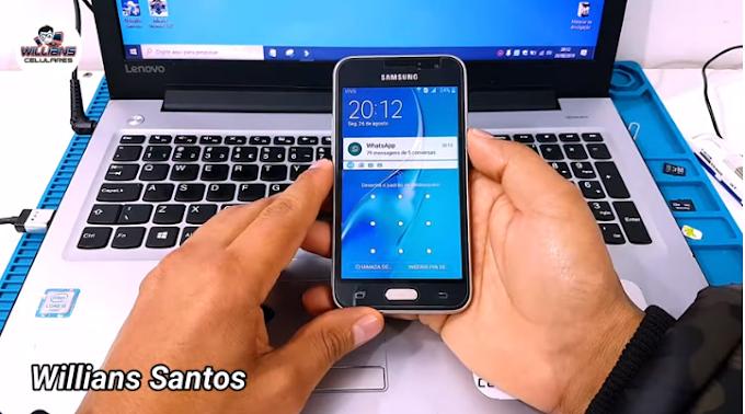 Aprenda Como Remover a Senha sem perder arquivos dos aparelhos Samsung J1 2016 SM-J120, J120H